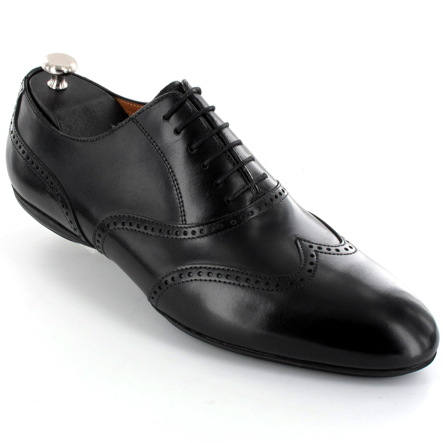 chaussure bottine homme lacets cuir noir zino chemise homme chaussures homme. Black Bedroom Furniture Sets. Home Design Ideas