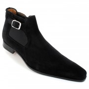 Chaussures bottines daim noir - Harry