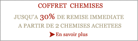 Chemises homme promotions
